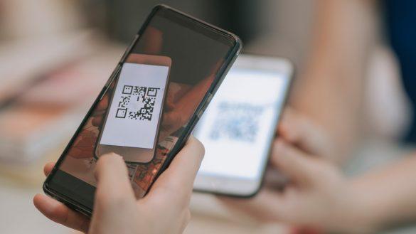 escaneando qr code de outro celular