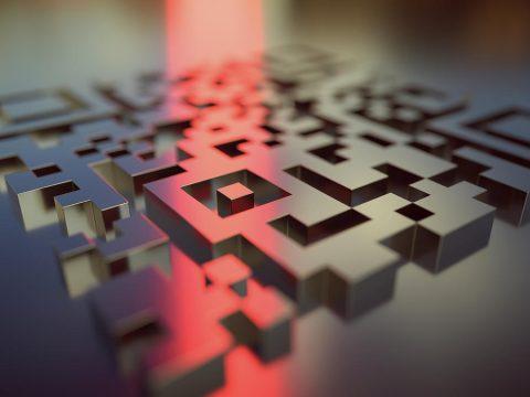 QR Code em 3D