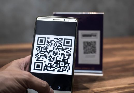 celular qr code