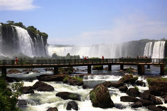 imagem das Cataratas do Iguaçu