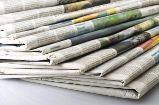 jornais impressos