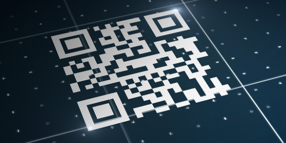 O que significa cada quadrado de um QR Code