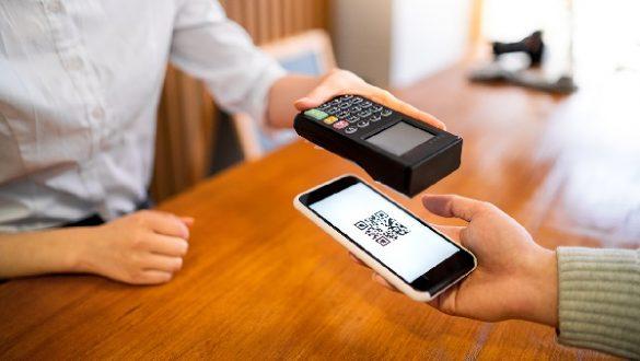 3) Para pagar com QR code