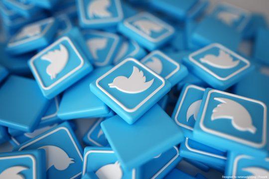 símbolos do twitter